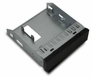 """Einbaurahmen HDD 5,25"""" zu 3,5 Zoll Einschub Rahmen Gehäuse Adapter Festplatte (Gebraucht)"""