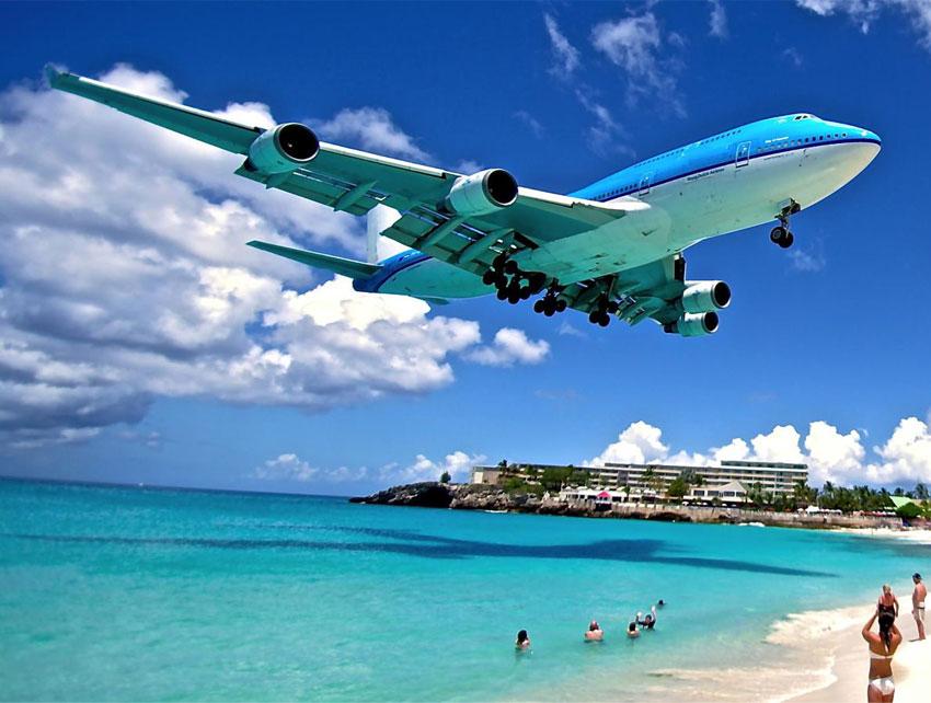 Flüge: Sint Maarten / Karibik ( Sept-Mai ) Hin- und Rückflug von Hamburg, Frankfurt, Berlin, Düssedorf oder München nach Simpson Bay ab 428€