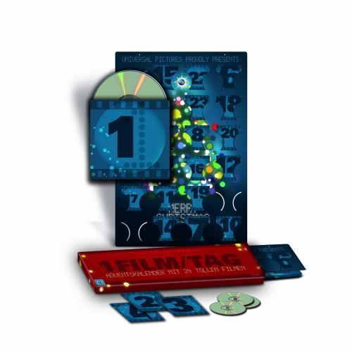 Amazon | DVD Adventskalender - 2012 (Limited Edition, 24 Discs) - wieder um 37,65€