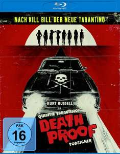 Death Proof - Todsicher & Grindhouse: Death Proof + Planet Terror (Blu-ray) für je 5,99€ (Amazon Prime & Saturn & Media Markt)