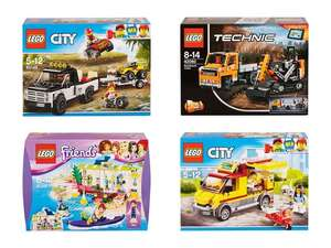 [Lidl Filialen] Lego Bauteile Sets Technic 42060, City 60148 & 60150, Friends 41315
