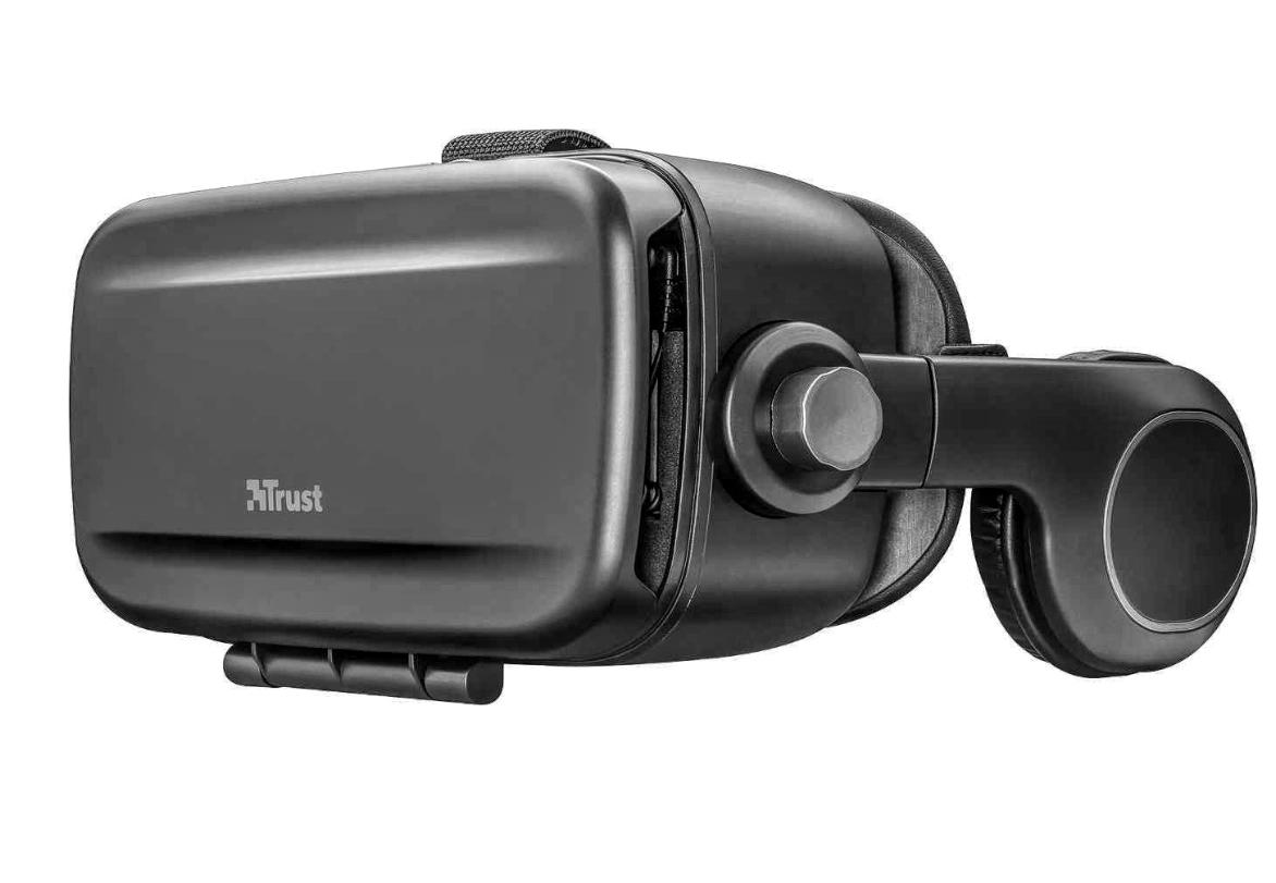 TRUST VR-Brille >>Exora<< mit integrierten Kopfhörern