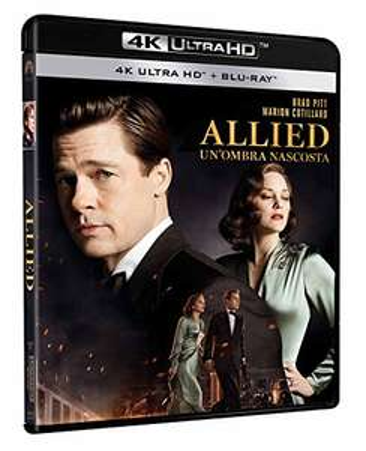 Allied - Vertraute Fremde (4K Blu-ray + Blu-ray) für 8,50€ inkl. Versand (Amazon ES)