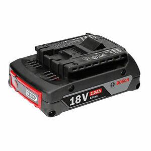 Bosch Akku GBA 18 Volt 2,0 Ah M-B Professional