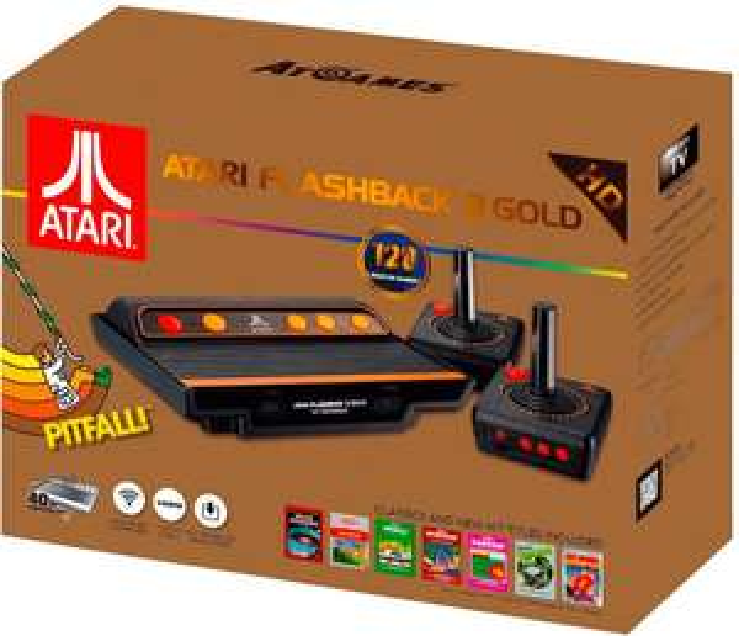 Atari Flashback 8 Gold HD für 35,38€ (Amazon UK)