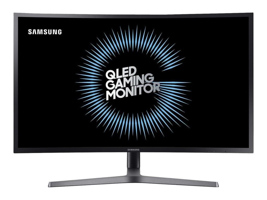 Samsung C27HG70 Curved Monitor, 27 Zoll, WQHD, 144 Hz, Freesync, Kontrast 3.000:1, HDR, Farbumfang sRGB 125%, DCI-P3 95%, 8bit+FRC