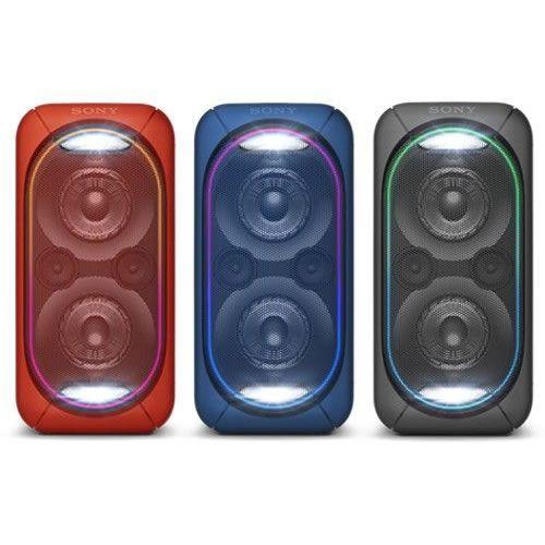 (MediaMarkt) SONY GTK-XB60 Party Lautsprecher (Schwarz/Blau/Rot)