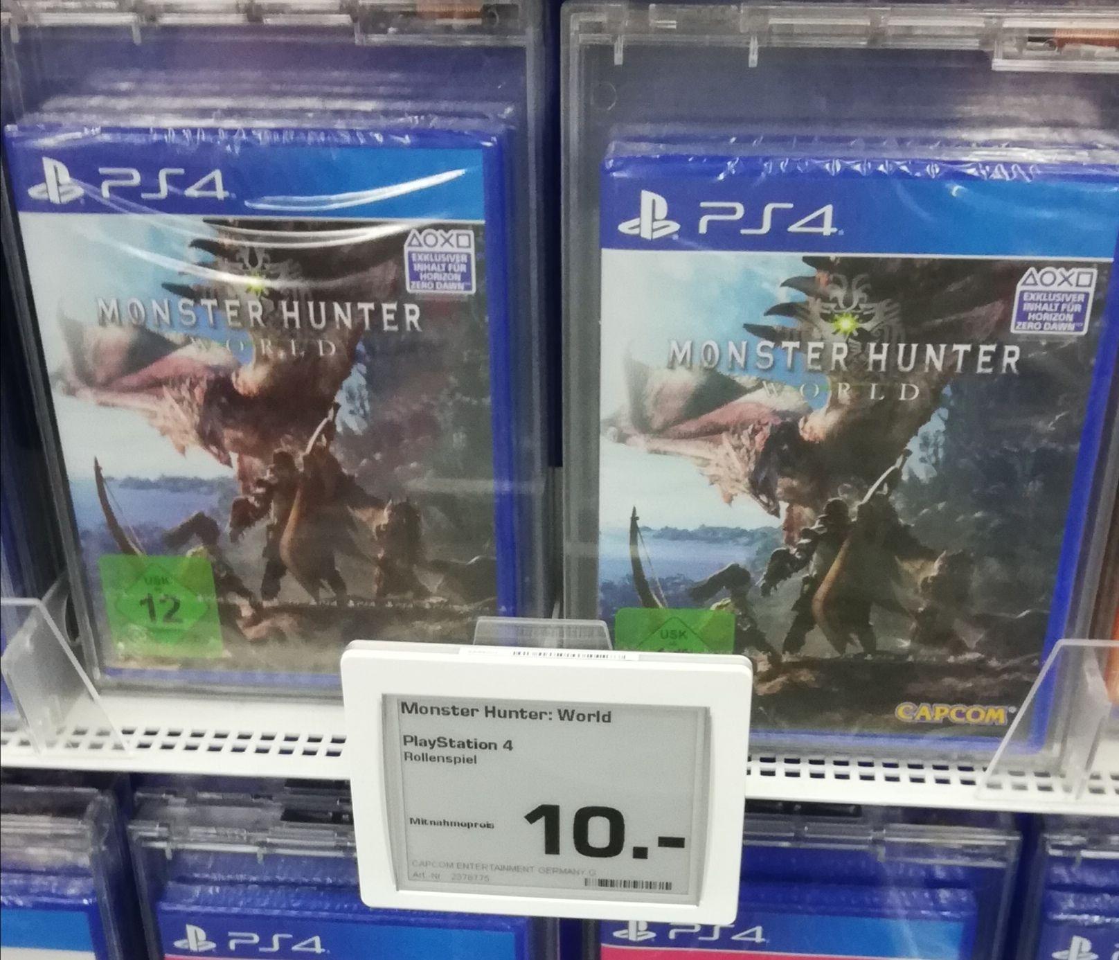 LOKAL Monster Hunter World für die PS4 im Saturn Hamburg