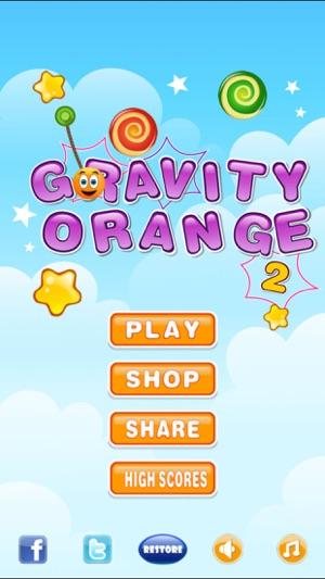 Gravity Orange 2 für IOS