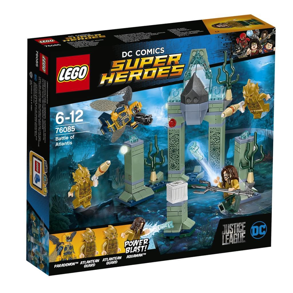Lego™ - DC Comics Super Heroes: Das Kräftemessen um Atlantis (76085 / 197 Teile) für €14,97 [@Real.de]