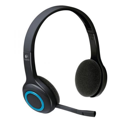 Logitech H600 Blau-Schwarz Funk Headset für 5,98€ @Hitseller
