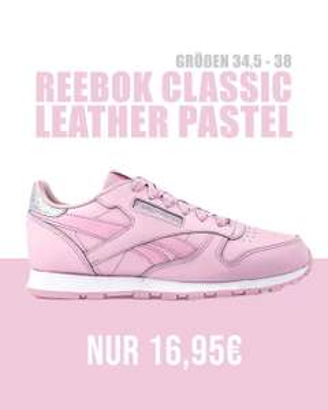 Reebok Classic Pink Pastel (34.5-38)
