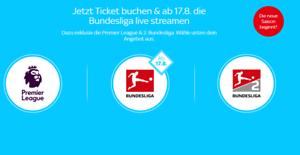 Sky Ticket - 1 Monat Supersport für 8,99€ (Neukunden)