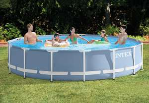 Intex Prism Frame Pool 84 x 457 cm oder 366 x 76 cm