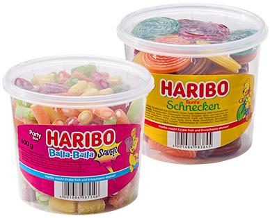 Aldi-Süd: Haribo Party Box 600g - Balla-Balla oder Bunte Schnecken