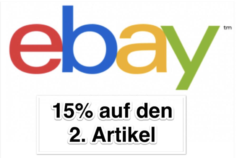 ebayAU: 15% Rabatt auf den 2. (günstigeren) Artikel - z.B. 2x Apple Airpods für 268,06€ - Maximaler Rabatt 184€ (MBW 46€)