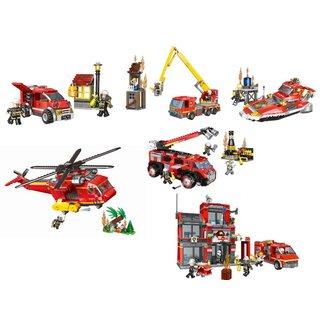 XingBao Fire Fighting Komplettset | Lego Kompatibel