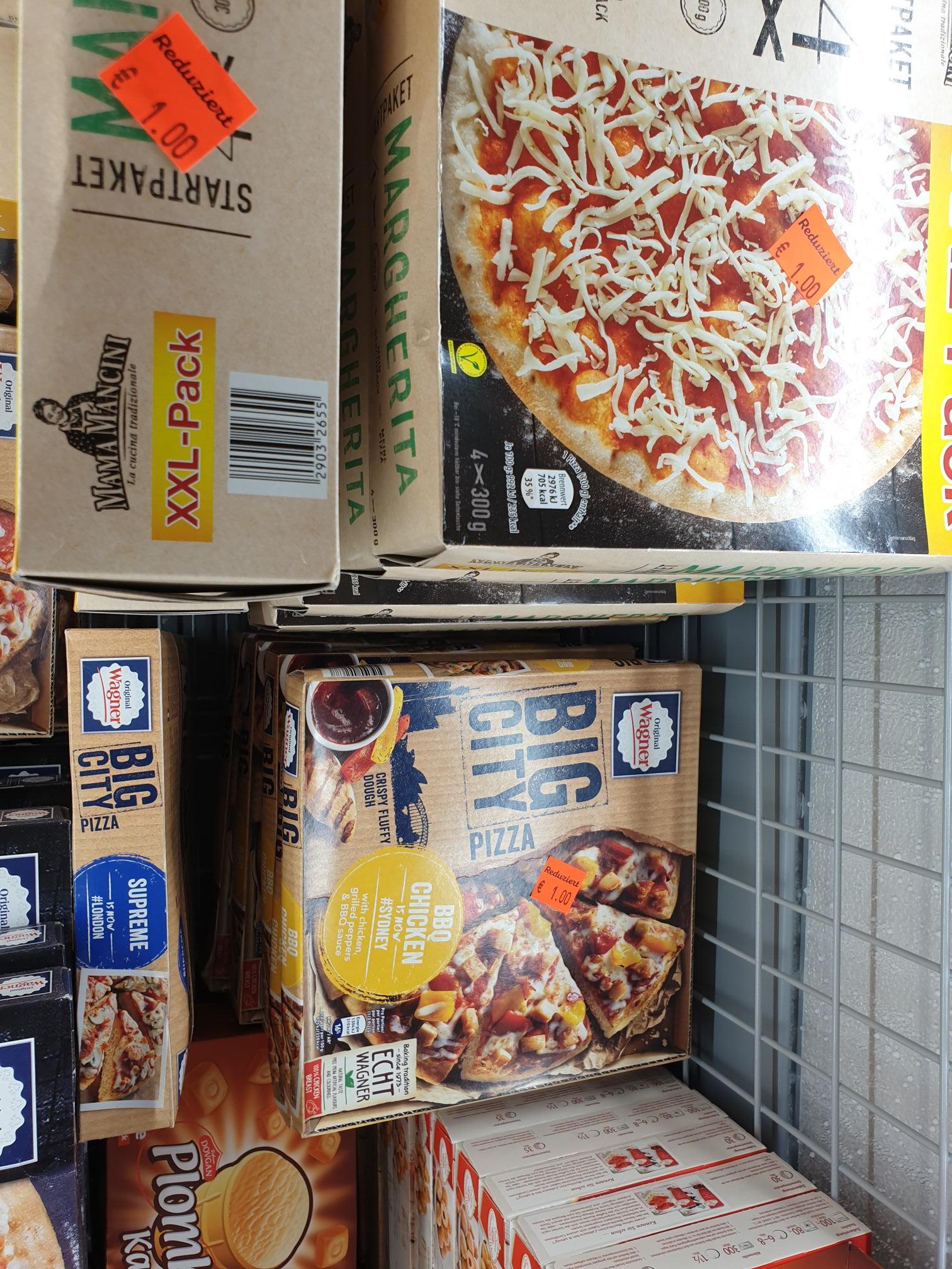 [Lokal] Pizza Wagner Big City + Noname Aldi Sarstedt