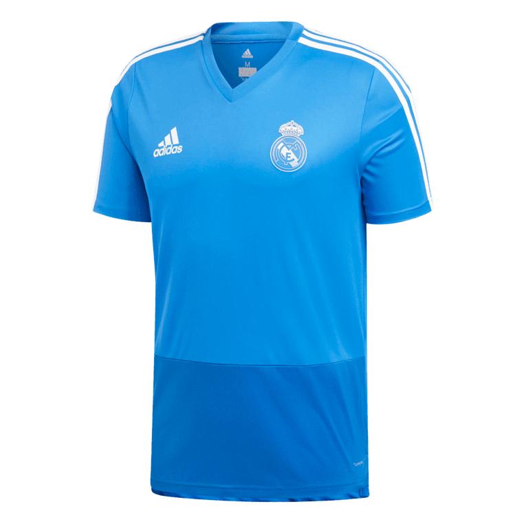 adidas Real Madrid Trainingsshirt blau/dunkelblau