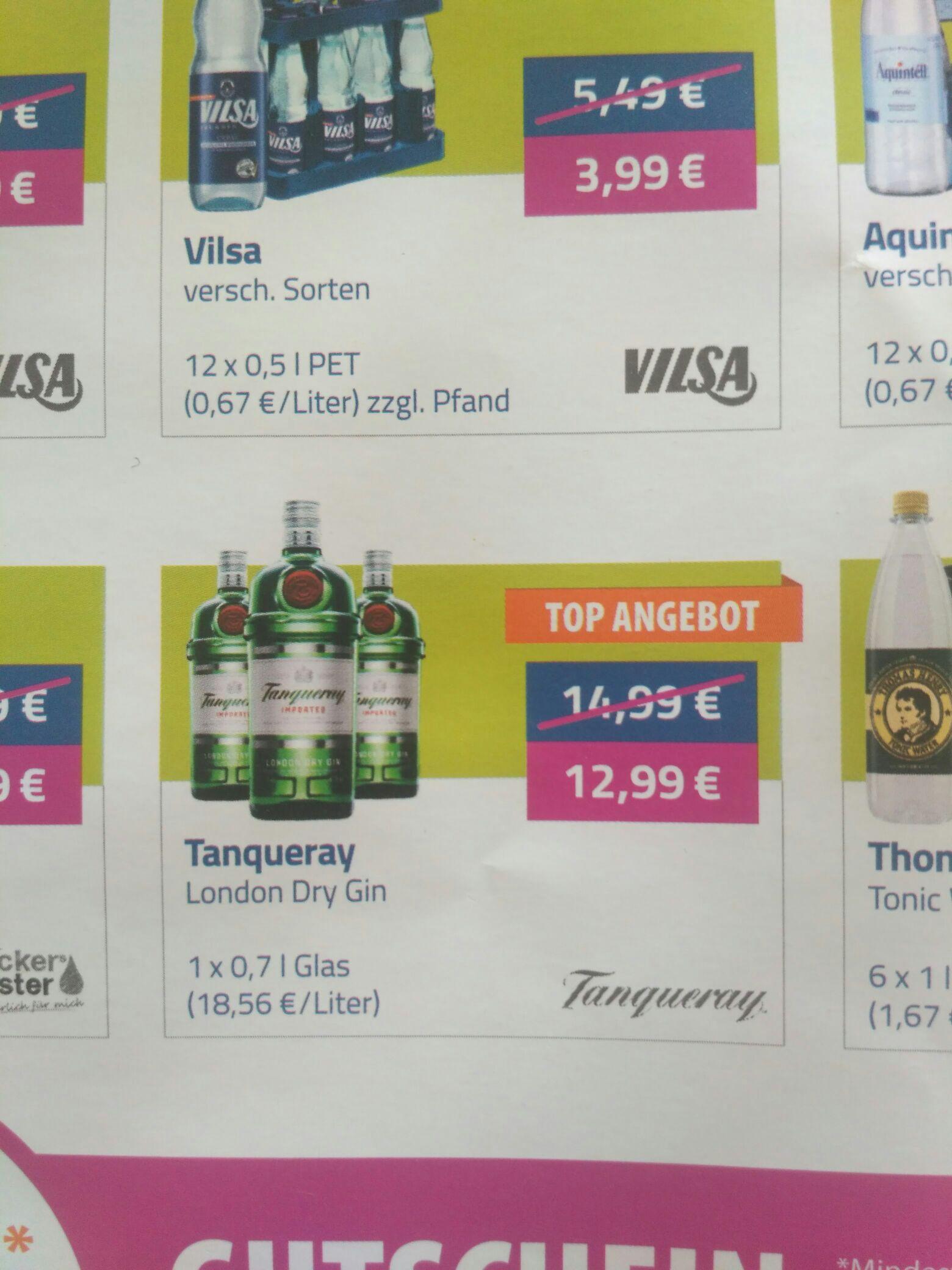 2x 0,7 l Tanqueray London Dry Gin, Flaschenpost Neukunden, Bremen