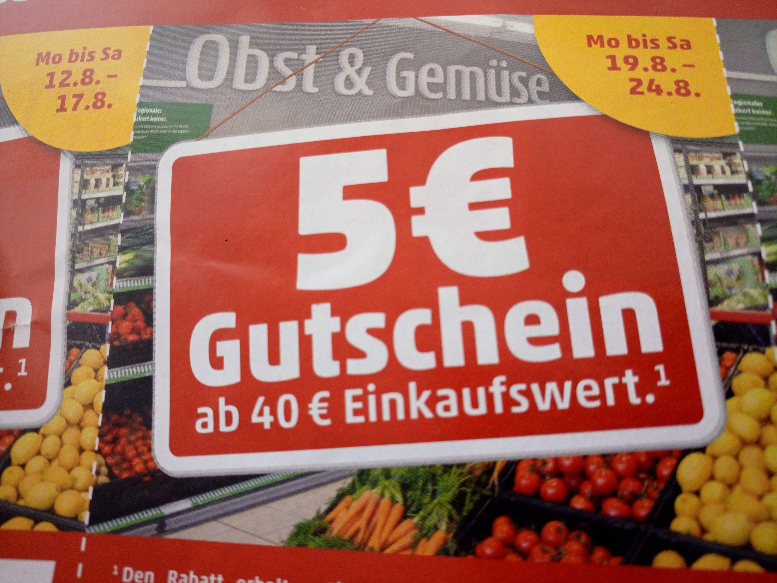 (Lokal) Penny Liebenburg ab 40€ Einkauf 5€ Gutschein