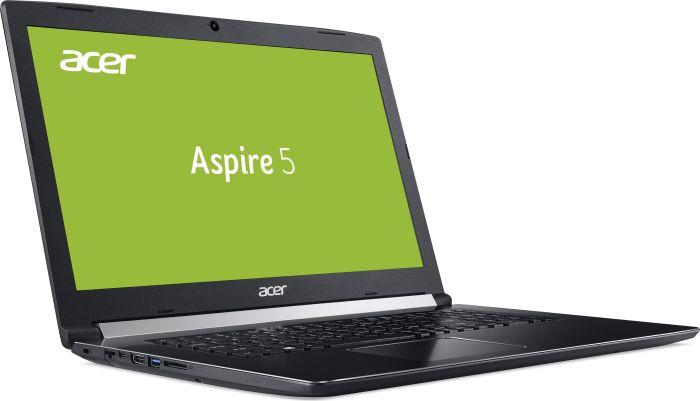 "Acer Aspire 5 - 17,3"" FHD IPS Notebook (i5-8250U, 8GB RAM, 256GB SSD, USB-C, 3kg, Linux, 48Wh, 2 Jahre Garantie) A517-51-509C"