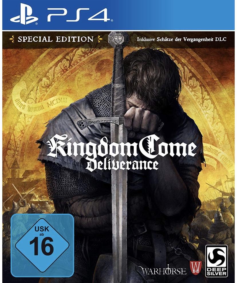 [Amazon] Kingdom Come Deliverance Special Edition - PS4