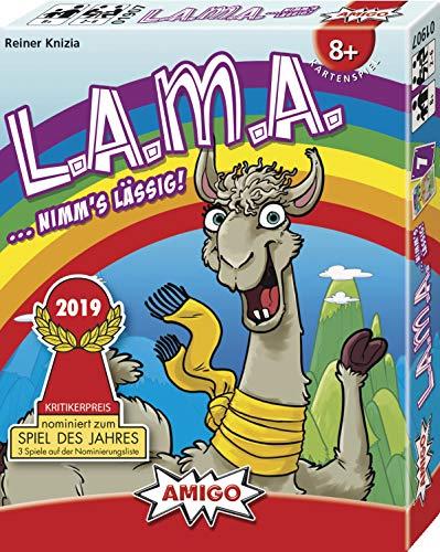 LAMA Kartenspiel Brettspiel nominiert zum Spiel des Jahres zum Bestpreis via Ama Prime