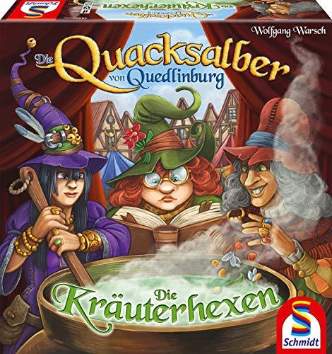 Die Quacksalber von Quedlinburg Die Kräuterhexen Erweiterung zum Kennerspiel das Jahres 2018 Brettspiel via Ama Prime