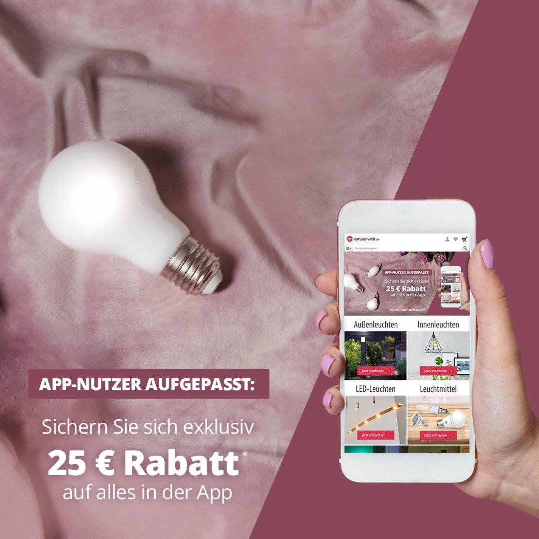 Lampenwelt.de 25€ Rabatt | MBW 200€