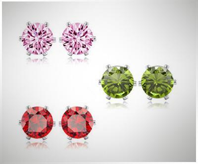 Ohrstecker mit Swarovski-Kristallelementen vom französischen Händler Blue Pearls für 14,95€ inkl. Versand (Weihnachtsgeschenk für die Freundin)