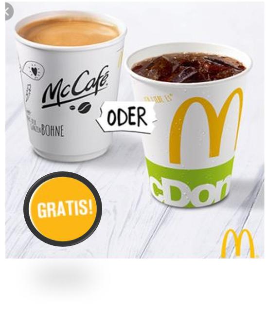 McDonalds kostenlose Getränkeflat wieder möglich & Einlösung via Kiosk + App möglich