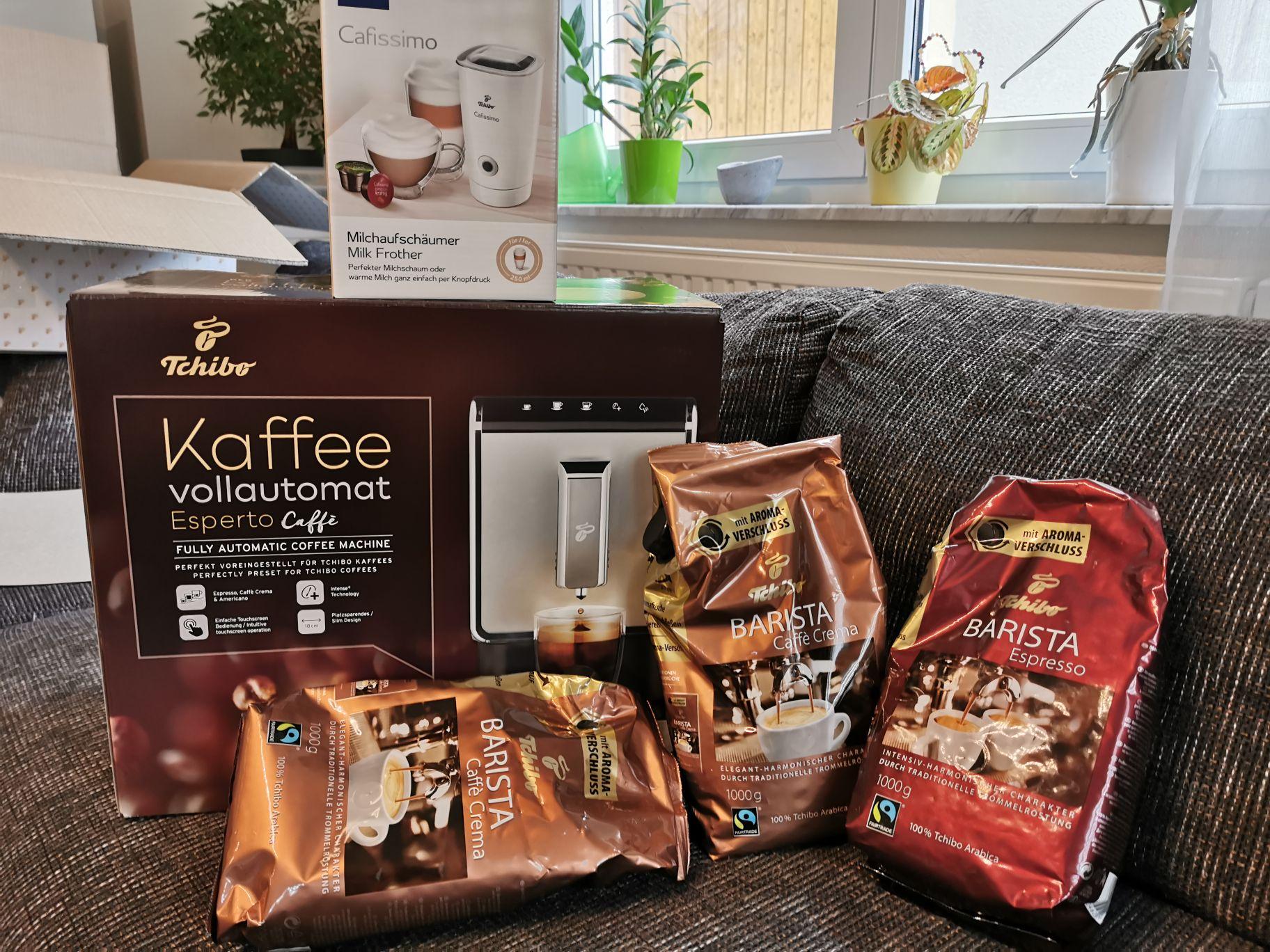 Tchibo Kaffee Vollautomat Komplettset. Für Tchibo Card Besitzer!