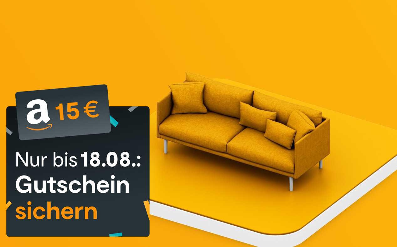 Huk24 Hausratversicherung mit 15 Euro Amazon-GS on top (KwK bis 30 EUR Amazon-GS möglich) bis 29.9.19