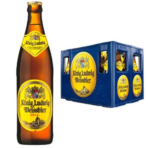 Bier: König Ludwig Weissbier 12,99€ | Störtebeker Bernstein-Weizen, Pils oder Schwarzbier 13,99€ - je Kasten 20 × 0,5l bei [Real] ab 19.08.