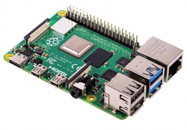 Raspberry Pi 4 Computer Modell B, 1GB RAM