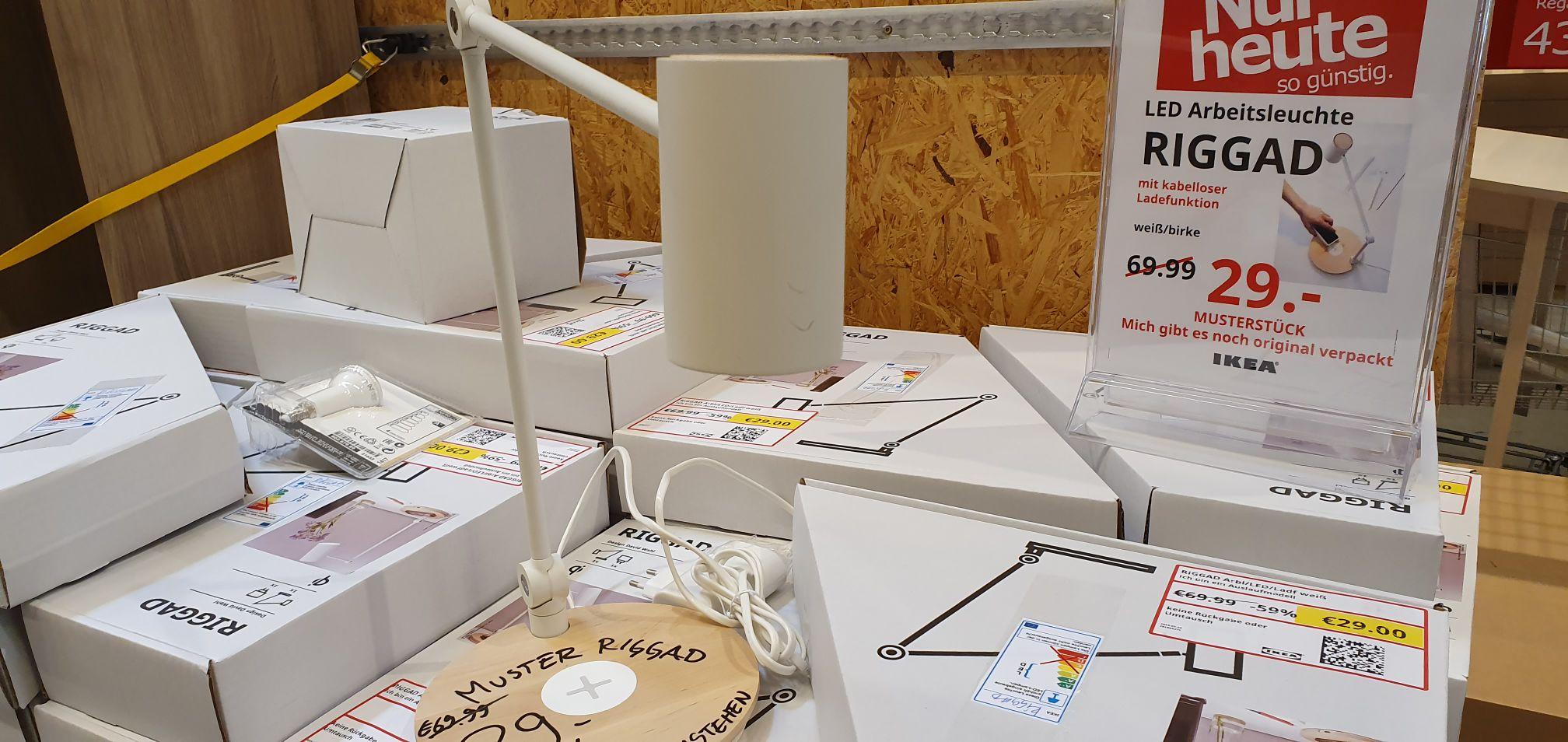 [Lokal] Ikea Frankfurt Riggad Led Arbeitsleuchte im Ausverkauf