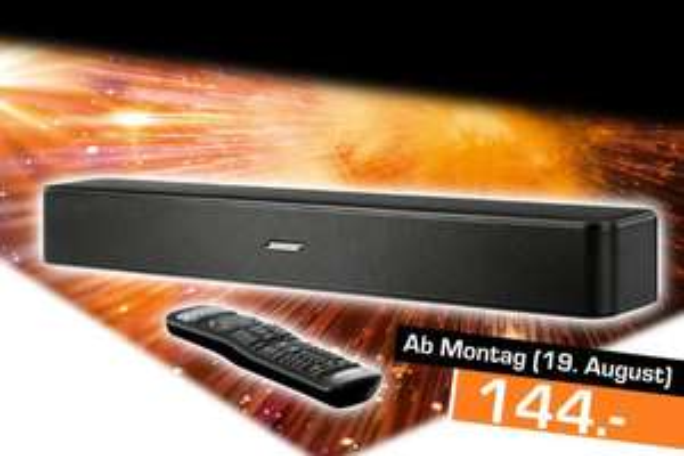 [Lokal: Saturn Dresden] Bose Solo 5 Soundbar | Samsung UE65NU7099 =499€ | Sony KD-55XF9005 =747€ |