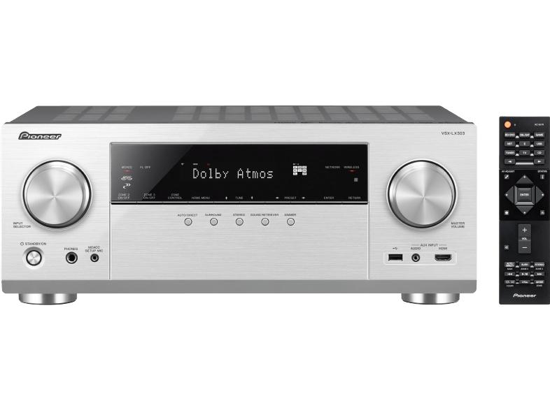 Pioneer VSX-LX303 Netzwerk-AV-Receiver (9.2, 170W/Kanal, 7x HDMI 2.0-In & 2x -Out, HDR/Dolby Vision, Dolby Atmos,WLAN) für 299€ [MediaMarkt]