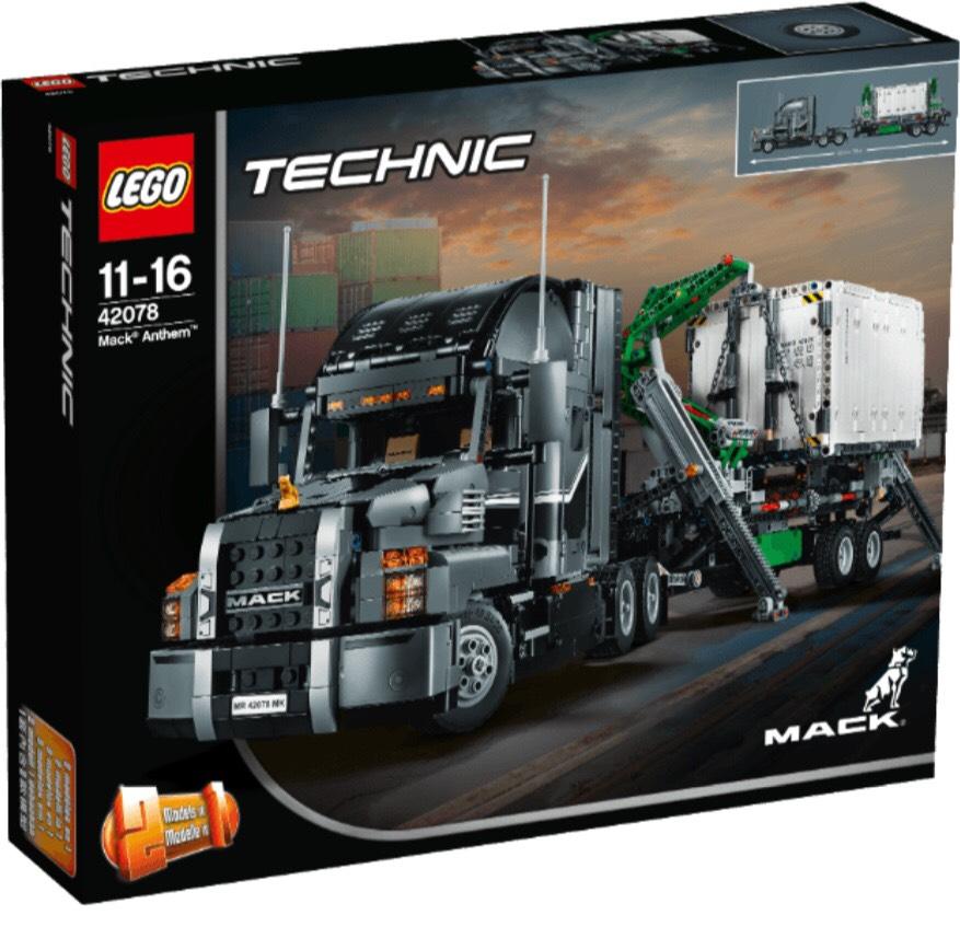LEGO Technic Mack® Anthem™ (42078) Bausatz