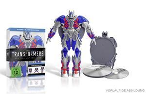 Transformers 4: Ära des Untergangs - Limited Optimus Prime Edition (Blu-ray + Bonus Blu-ray) für 7,99€ versandkostenfrei (Saturn)