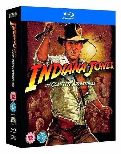 INDIANA JONES - THE COMPLETE ADVENTURES - (BLU-RAY)