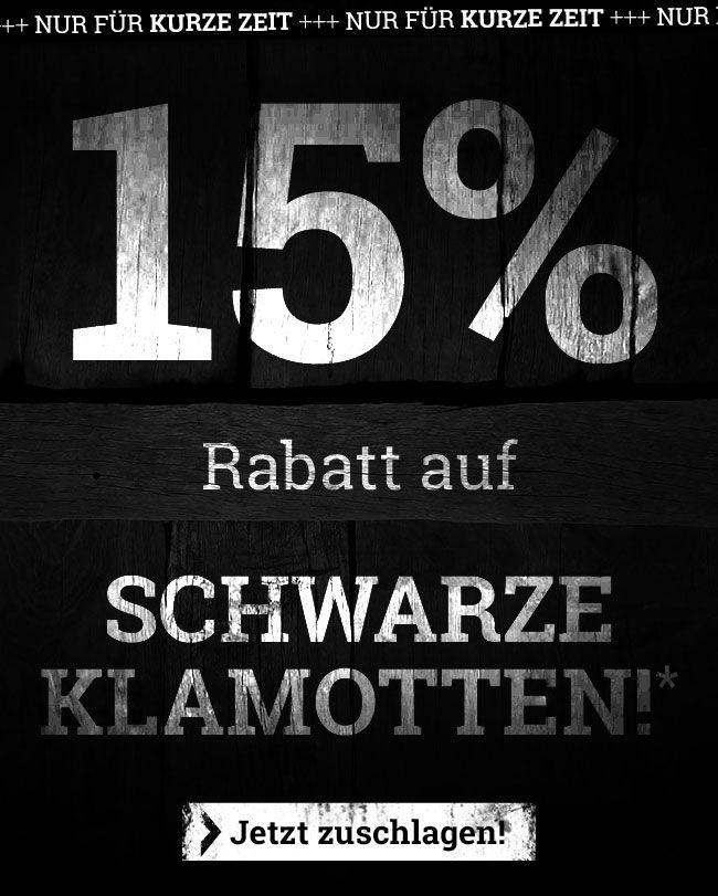 [EMP] 15% auf schwarze Klamotten