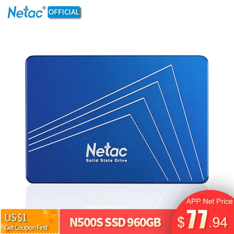 Netac N500S SSD 960GB TLC Aliexpress App 70,89€