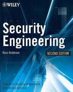 [eBook]Security Engineering: A Guide to Building Dependable Distributed Systems - Ross Anderson