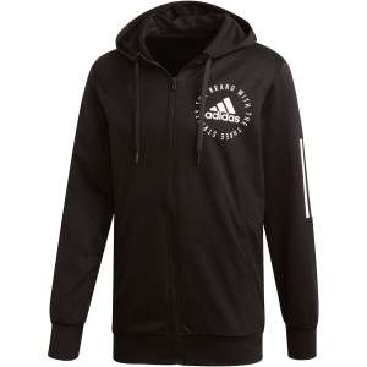 "Adidas™ - Herren Kapuzenjacke/Full-Zip Hoody ""Sport ID"" (Black) ab €19,15 [@Karstadt.de]"