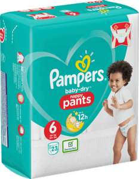 Pampers Baby-Dry Pants Einzelpacks ¦ Größe 3 bis 7 (33 bis 21 Stück) ¦ ggf. für 0,77€ mit 3€ Coupons bei [Globus] ab 19.08.