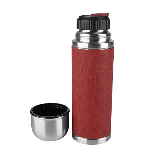 Emsa 515712 Senator Sleeve mit Safe Loc Verschluss , Mobil 500 ml, rot