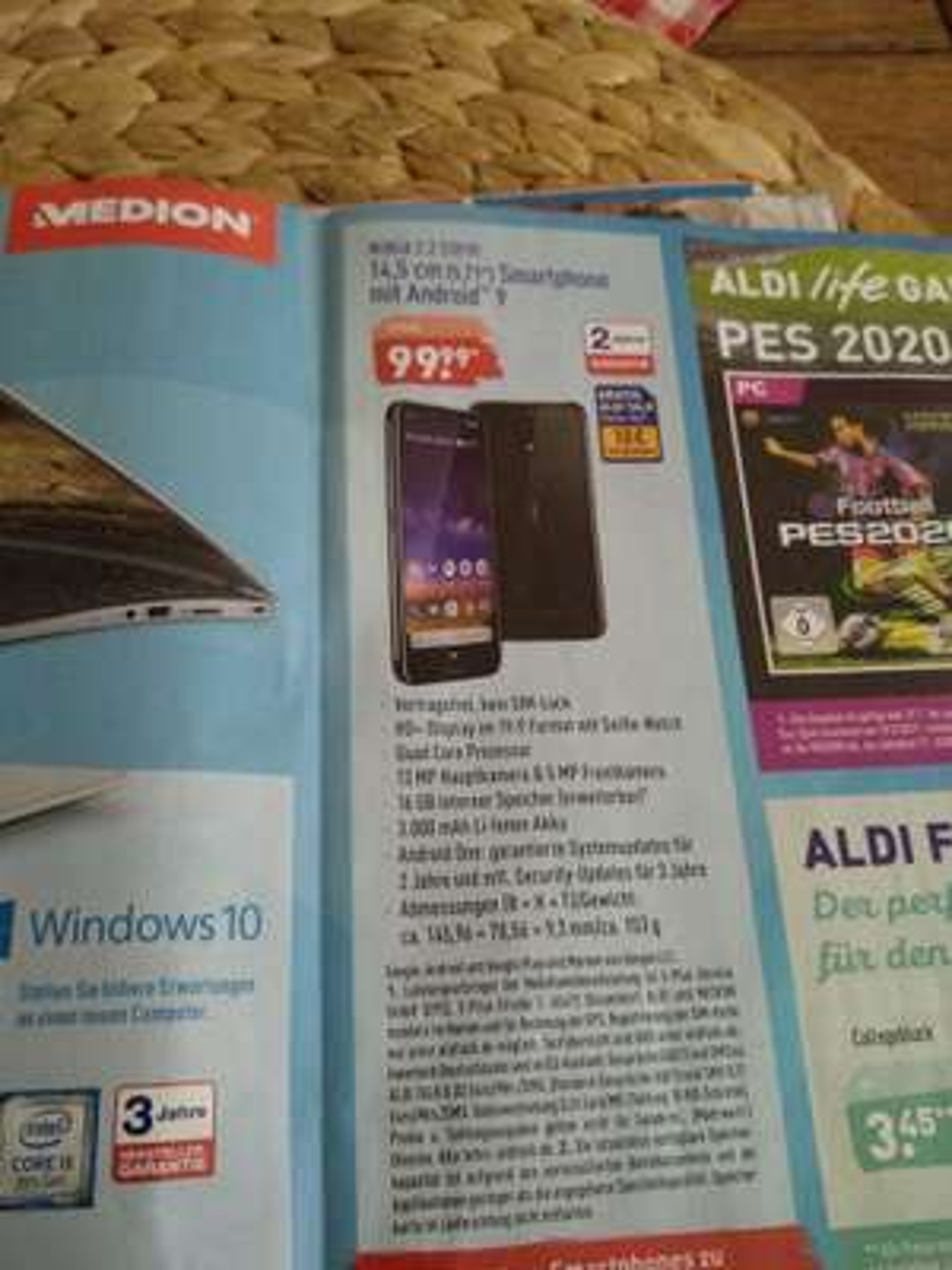 Nokia 2.2 bei Aldi-Nord ab 29.8.