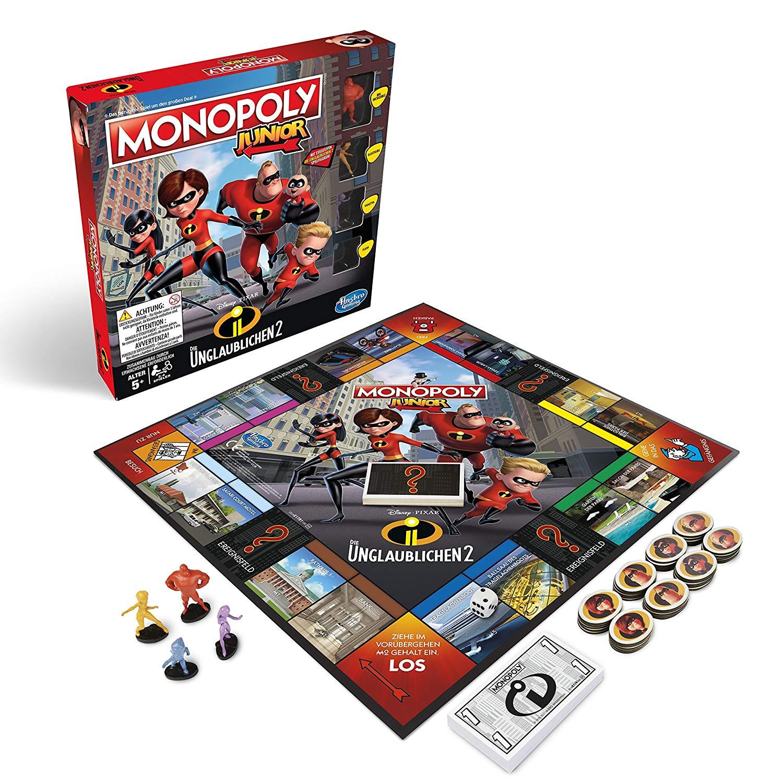 """Hasbro™ - Gesellschaftsspiel """"Monopoly Junior: Die Unglaublichen 2"""" ab €9,97"""